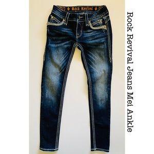 Rock Revival Jeans Mei Ankle Skinny EUC